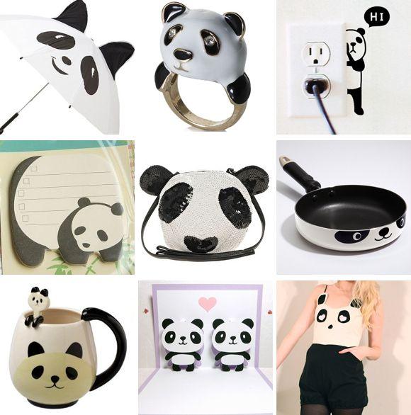 domingos adorables: osos panda