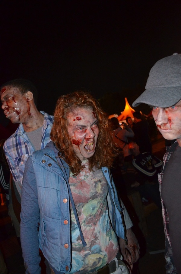these zombies were sighted at Lowlands near Amsterdam