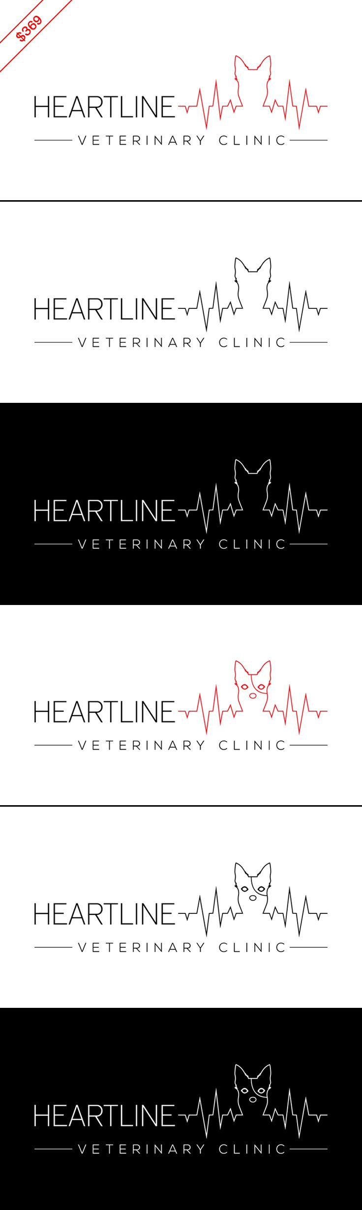 $369 Dog logo / vet logo that lets your clients know you understand how much Fluffy and Buddy mean to them, and reassures them that you'll treat their pets with the utmost care. Concept will be customized with your brand name and color preferences once you buy it. Businesses: veterinary clinic, pet ambulance, pet supplies store, pet shop, pet grooming services, pet trainer, pet spa, pet sitter, pet hotel, pet blog.