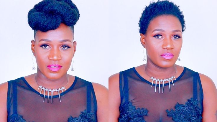 Elegant | Quick Updo | Marley Hair | Requested