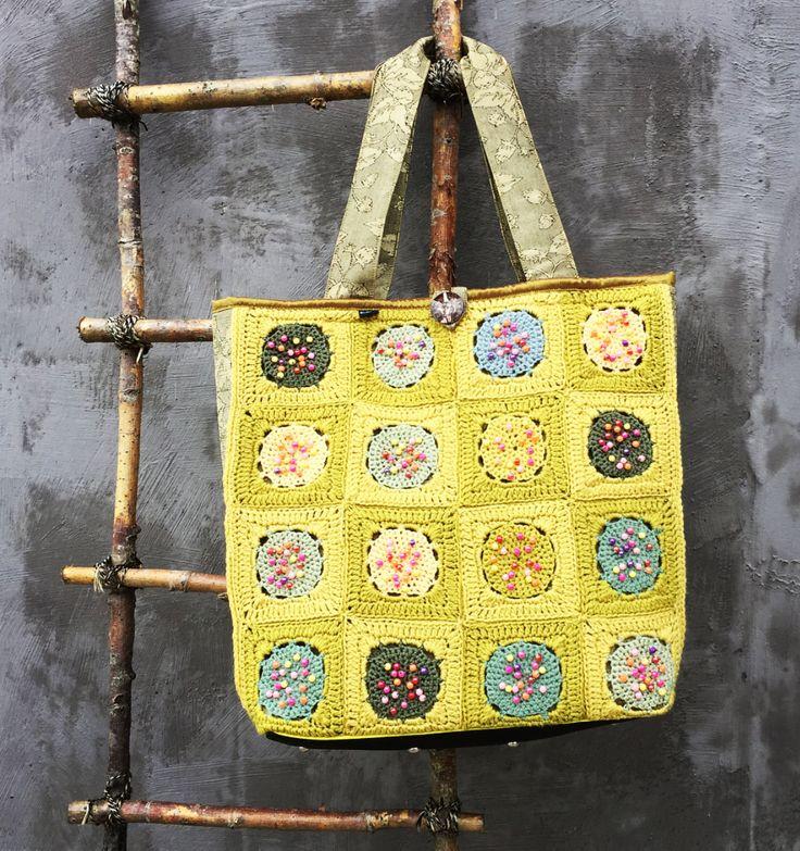Crocheted Beaded Bag |