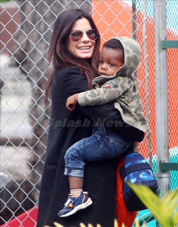 Best 25+ Sandra bulloc... Sandra Bullock Children