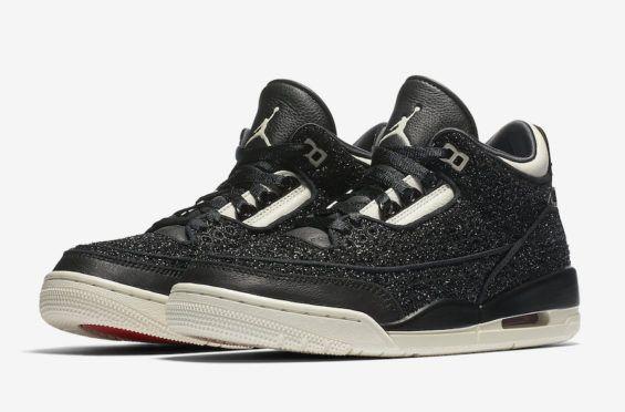 Official Images  Vogue x Air Jordan 3 WMNS AWOK Black The first ever Jordan  Brand 4d0be12ce