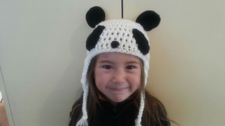 Panda Hat for kids by Rumic1 on Etsy