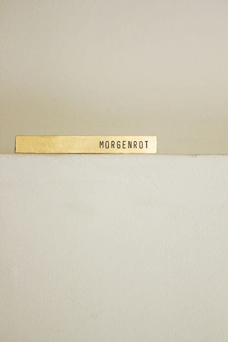 Brass Plate #57 - IRRE