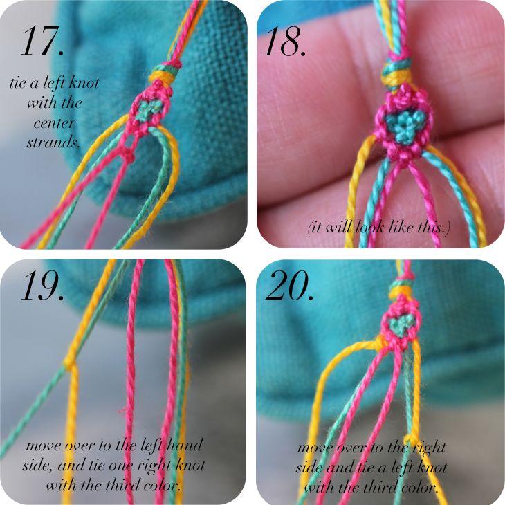 DIY: Diamond Friendship Bracelets | Diamond friendship ...