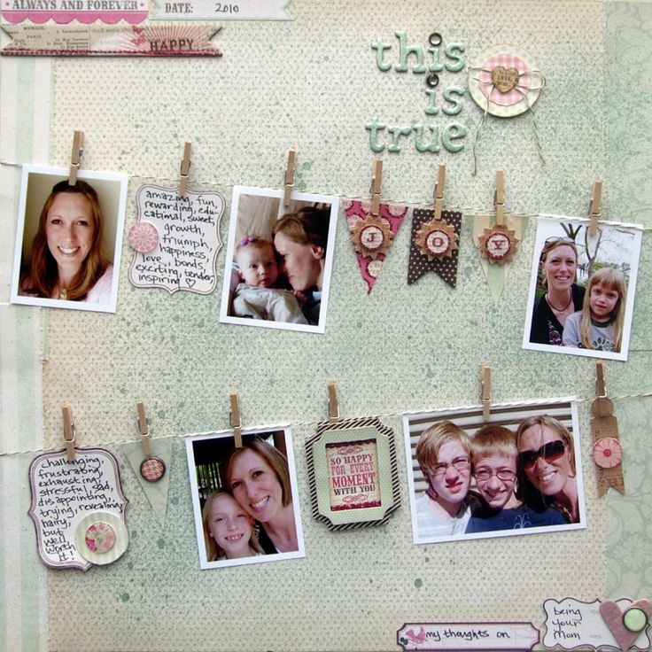 Scrapbook ideas google search arts and crafts pinterest photo display - Idee scrapbooking amour ...