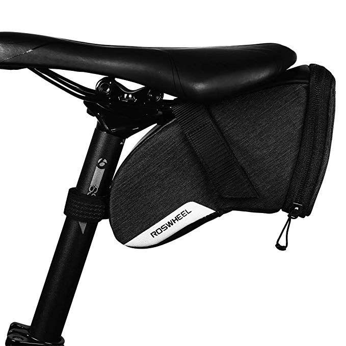 Coteetci Bike Saddle Bag Under Seat Pack Tail Pouch Mountain Bike