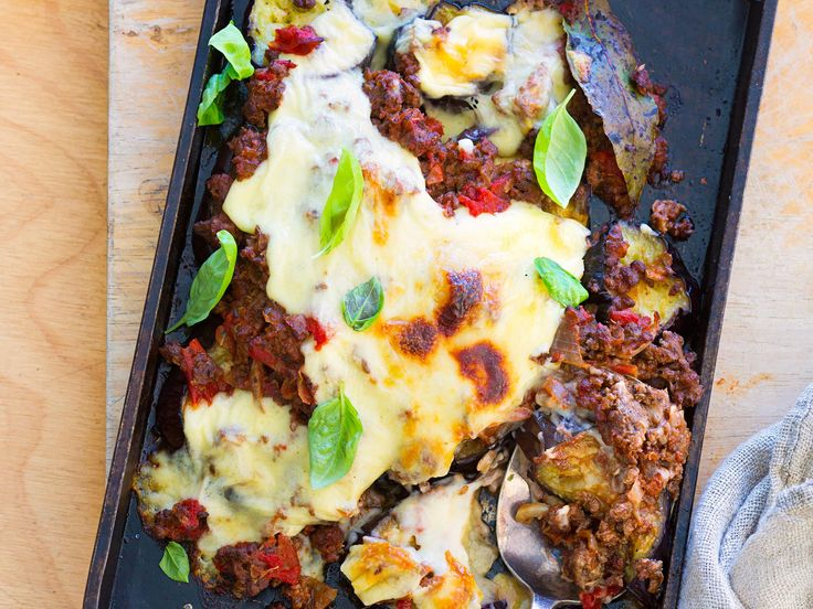 Winter is perfect for a hearty moussaka, but sometimes you're just not in the mood for all those steps and dishes. This quick recipe has all the key elements and flavours, but without the fuss.