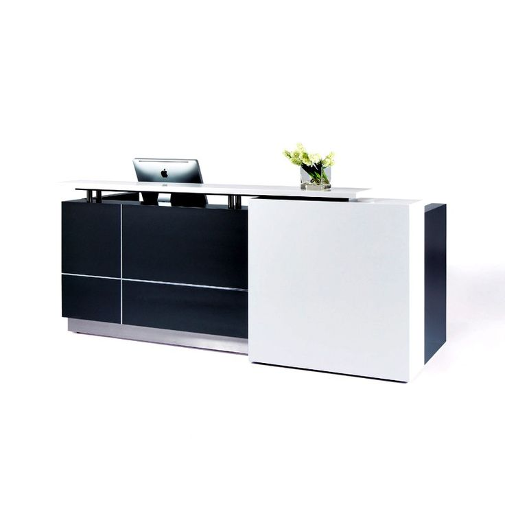 Modern Office Furniture Reception Desk Delectable Inspiration