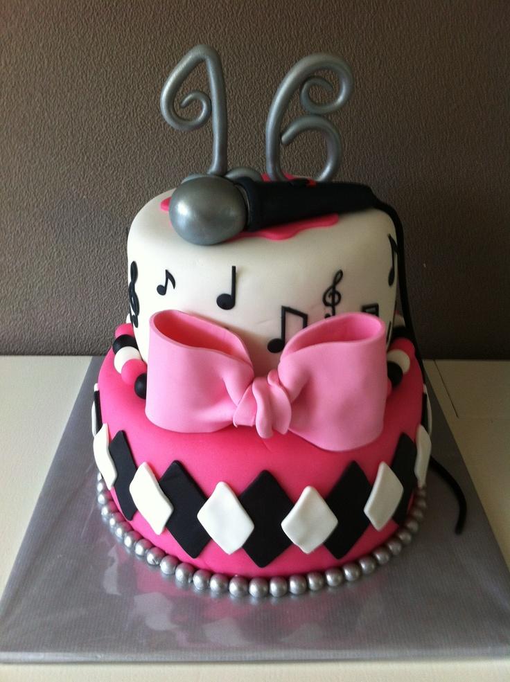 Muziektaart / Music cake
