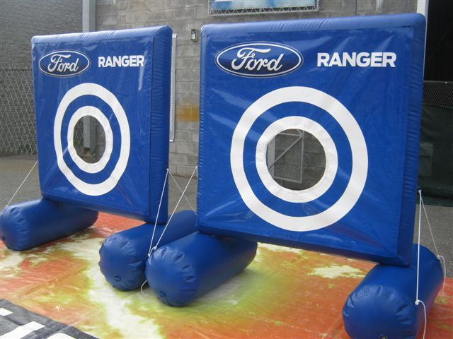 Inflatable Throwing targets