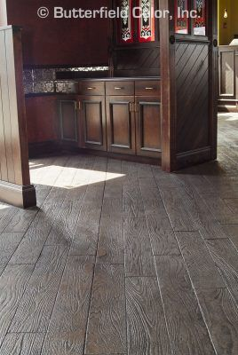 Butterfield Color 6 Wood Planks Concrete Stamp