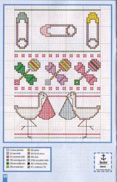 Schema punto croce Idee 56