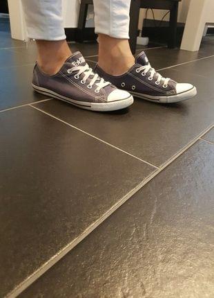 Kaufe meinen Artikel bei #Kleiderkreisel http://www.kleiderkreisel.de/damenschuhe/sonstiges/135990199-all-star-converse-blau-weiss-grosse-375