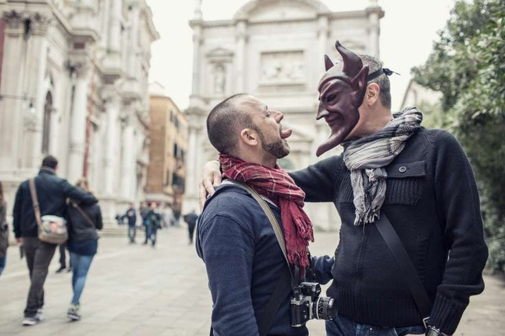 Lovely costumers in Venice - San Rocco