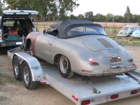 Learn More About Black Plate Barn Find 1957 Porsche Speedster On Bring A Trailer The Home Of Best Vintage And Classic Cars Online