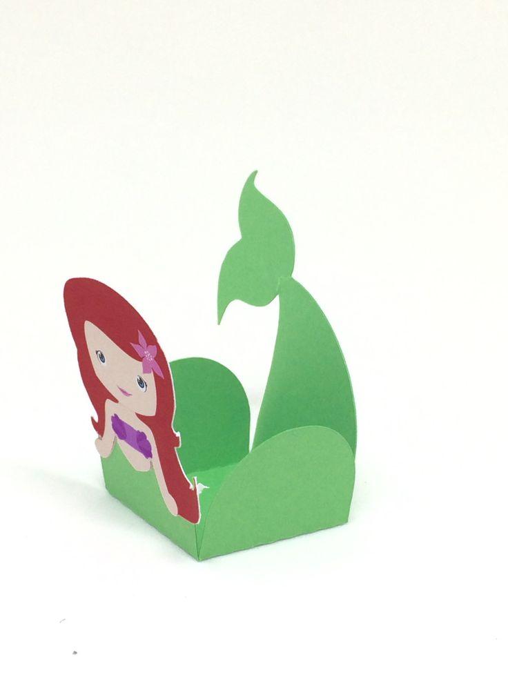 Forminha Pequena Sereia | Lalui Pronta Entrega | Elo7