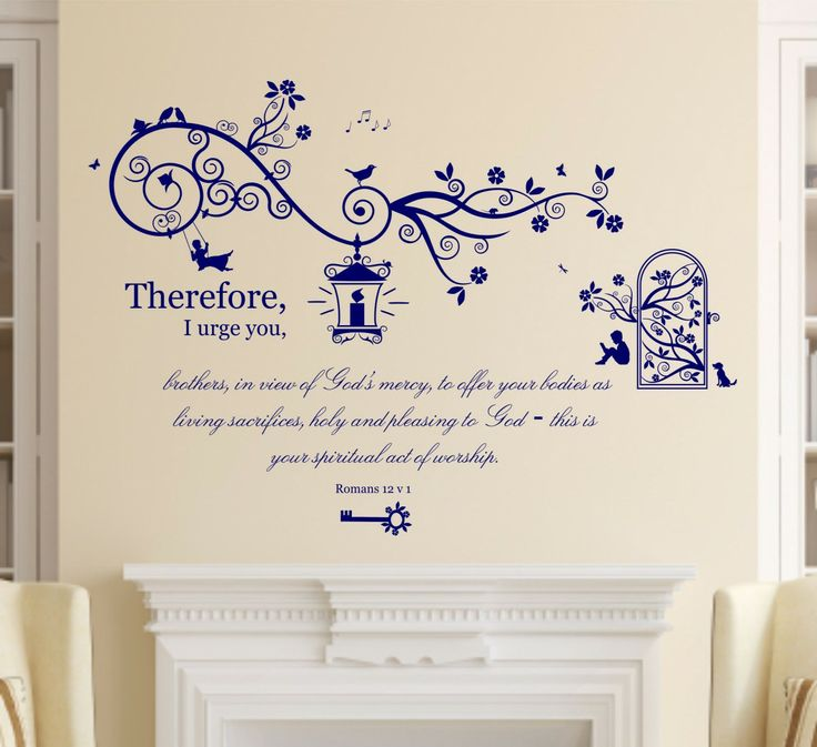 Christian Wall Stickers Quotes | Christian Wall Decals Quotes Bedrooms  Bible Verses And