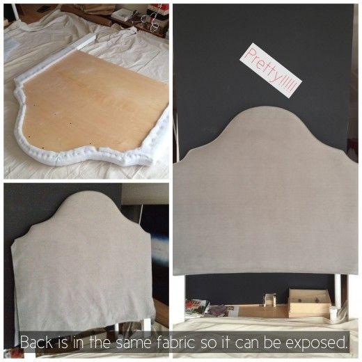 headboard diy via simply grove ashley walters marie. Black Bedroom Furniture Sets. Home Design Ideas