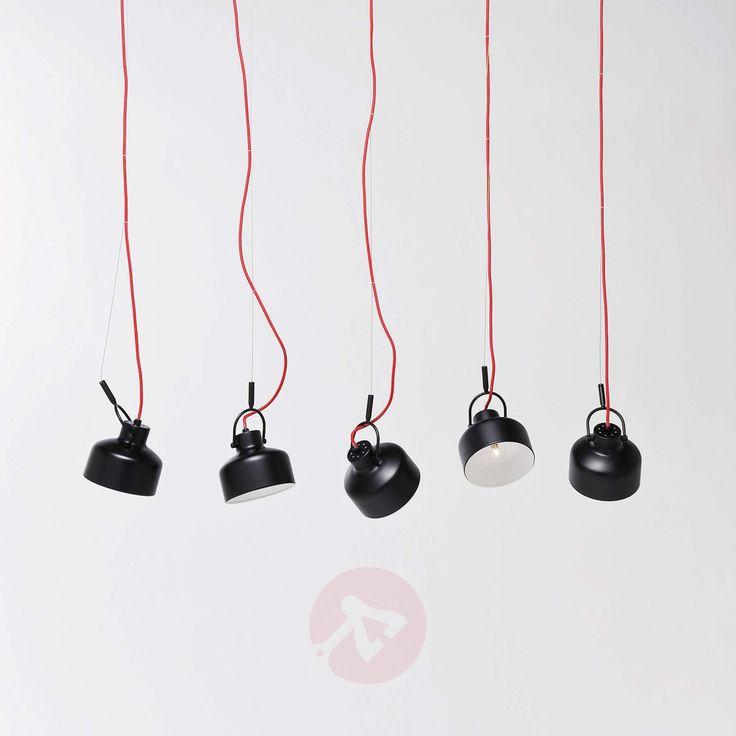 Kjøp Fabbrica Dining Black pendellampe, 5 lyskilder