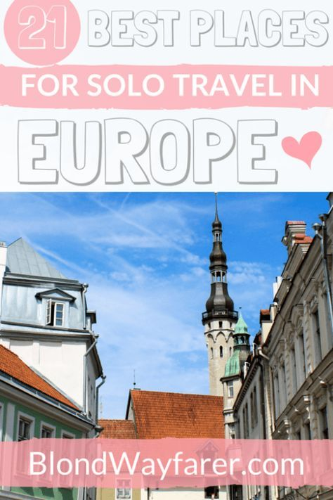 Best places to holiday alone europe