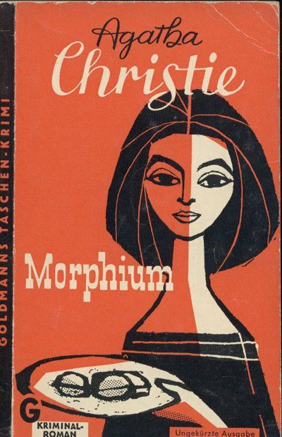 Agatha Christie book cover, Germany