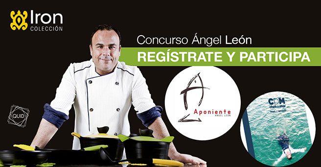 Concurso Iron by Ángel León : consigue una cena en el restaurante Aponiente y un libro de recetas de Ángel León