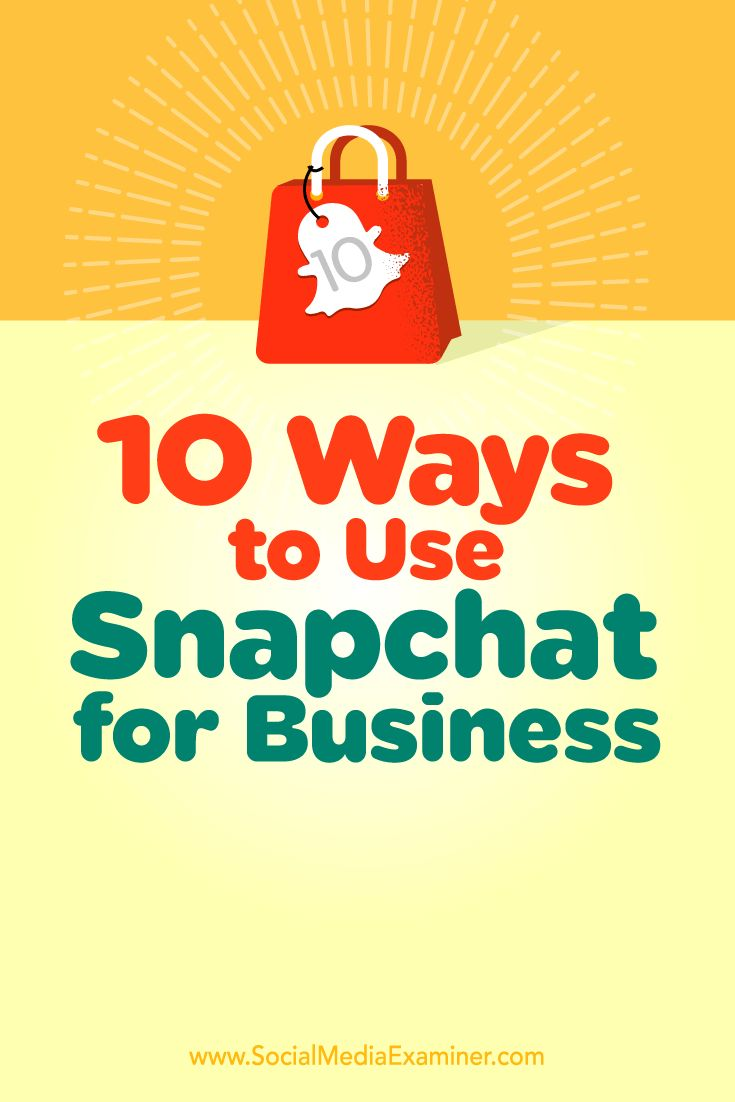 Tips on ten ways you can create deeper connection with your followers using Snapchat.