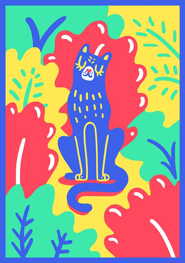 The Ultimate Summer by Marylou Faure London, United Kingdom   Illustration   Print Design   Poster   Colorful   Graphic Design  