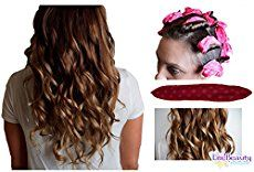 Best flexible foam and sponge hair curlers in the industry, revolutionizing old fashion rods into 20 new night curlers that are comfy to sleep on. For wavy, tight, spiral curls for thick & thin hair._.