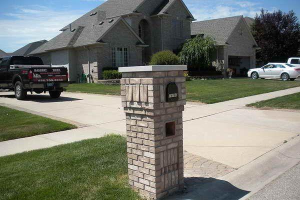 11 Best Brick Mailbox Ideas Images On Pinterest Mailbox