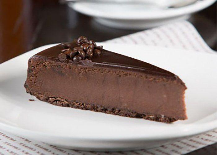 Потрясающе вкусный шоколадный чизкейк , который не нужно выпекать! Можно даже на диете