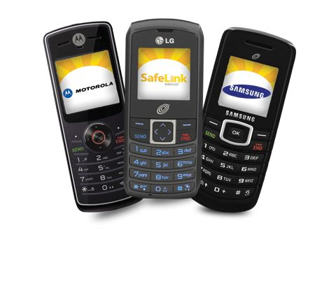 Are there places where one can get a free cellular phone?