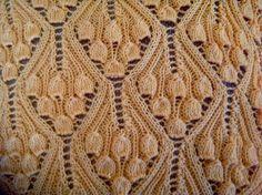 Винтажные колокольчики. Узор для спиц. / Вязание спицами / Вязание для женщин спицами. Схемы