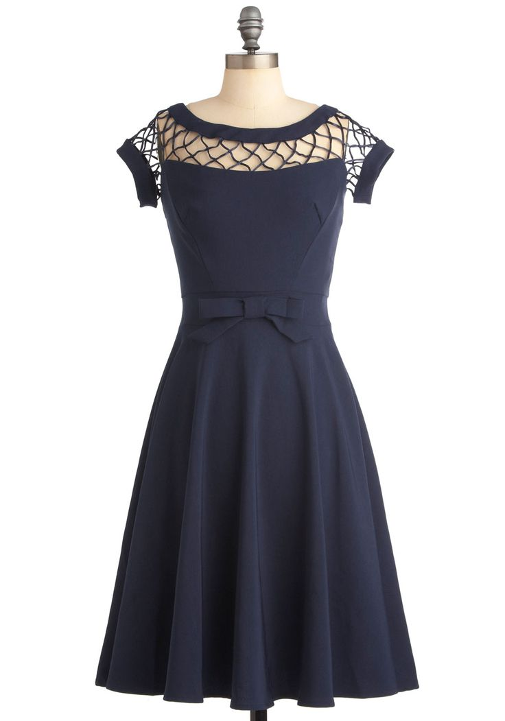 With Only a Wink Dress in Navy, @ModCloth  I really want this dress