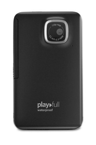 Kodak PlayFull Waterproof Video Camera (Black) [with 4GB SD card] by Kodak. $49.93. Product Description With the Kodak PlayFull Waterproof Video Camera, everyone can get 720p HD video in a small, affordable package. Pop it in a pocket or purse so it's ready whenever you need it. And the PlayFull Waterproof Video Camera can get wet or take a tumble and still come back for more. When the fun is done, the Share button and pop-out USB arm make it simple to e-mai...