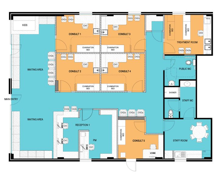 narrabeen family medical floor plan hillsboro clinic plan 21425dr world class views house plans home design