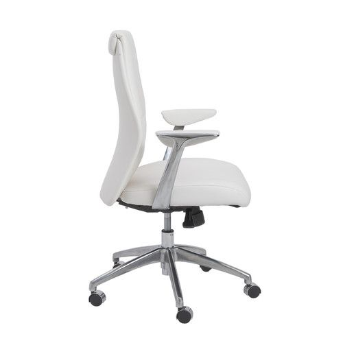 While the low back ergonomic office chairs are in fashion these days, some people still prefer a high back office chair that offer full support starting from their lower back till the neck.