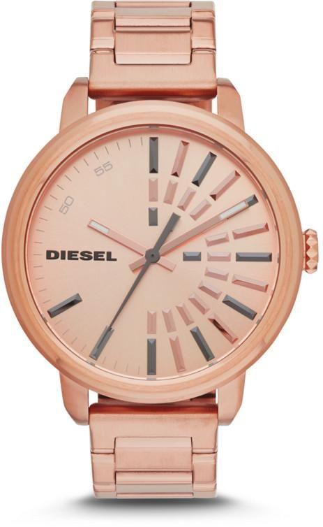 Diesel DZ5418 Rose Dial Rose Gold-tone Ladies Watch
