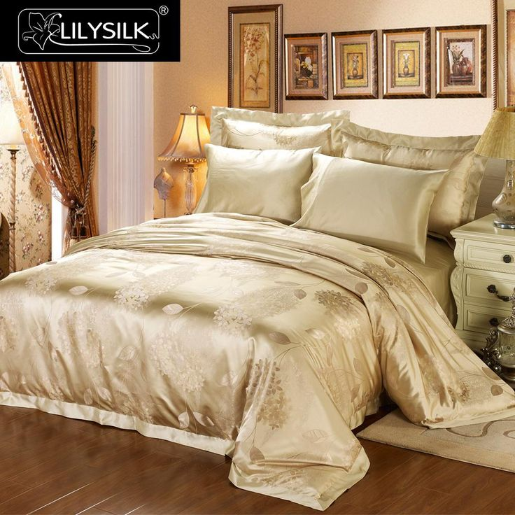 by experienced artisans silkworkers this luxury silk bedding set is a great piece if your bedroom has great sunshine exposure