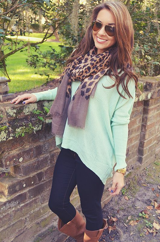 I'll Fly Away Sweater: Mint                 | Hope's