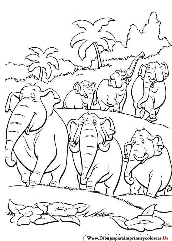 The 33 best Jungle Book 1-2 ~ Disney Coloring Pages images on ...