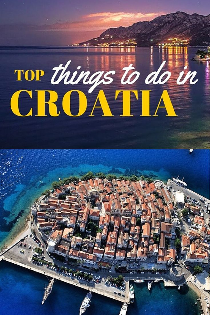 """As a local here in Croatia, I am often asked this same question, """"What are the top things to do in Croatia? Well, here is what I suggest you do on holidays in Croatia. #TRAVEL #CROATIA"""
