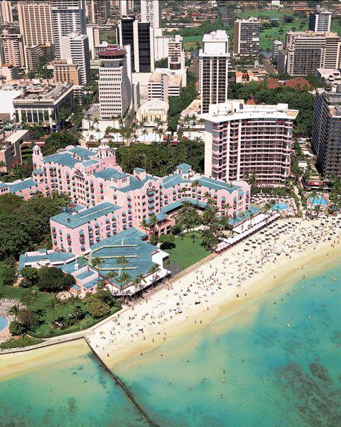 Royal Hawaiian Hotel - Waikiki