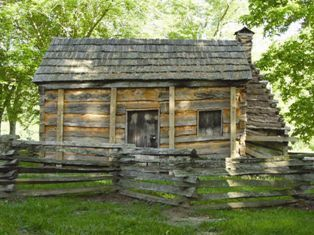 Knob Creek, Lincoln's childhood home in Kentucky, 1811-1816
