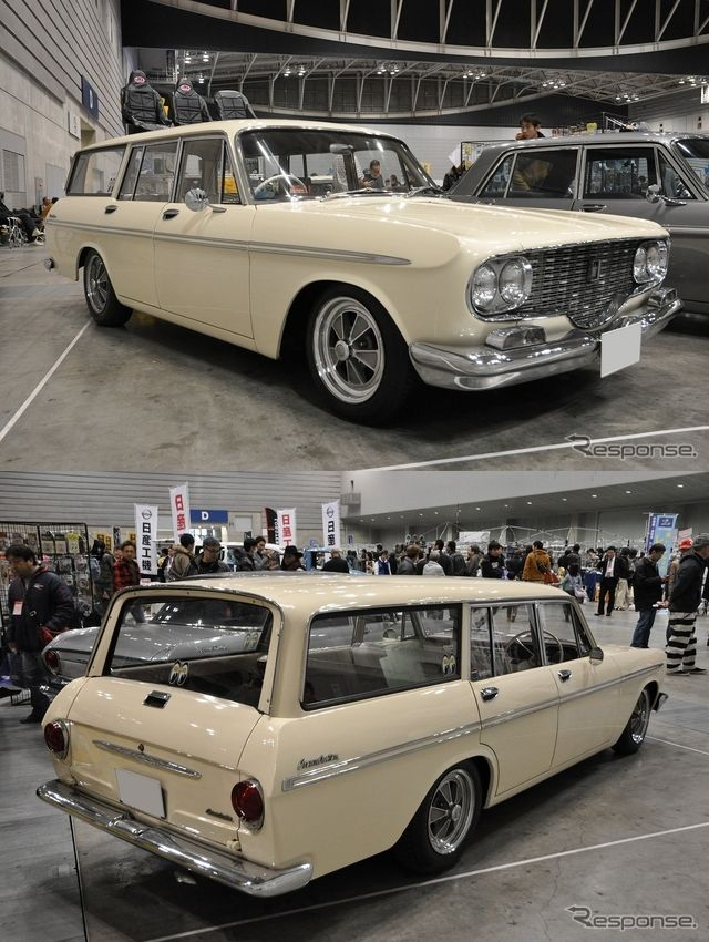 TOYOTA CROWN Custom (1962) Maintenance/restoration of old/vintage vehicles: the material for new cogs/casters/gears/pads could be cast polyamide which I (Cast polyamide) can produce. My contact: tatjana.alic@windowslive.com