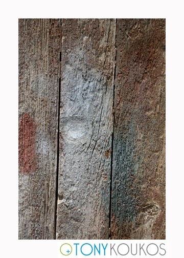 wood, vertical planks, woodgrain, porous, paint, rough, dodecanese islands, greece, Tony Koukos, Koukos