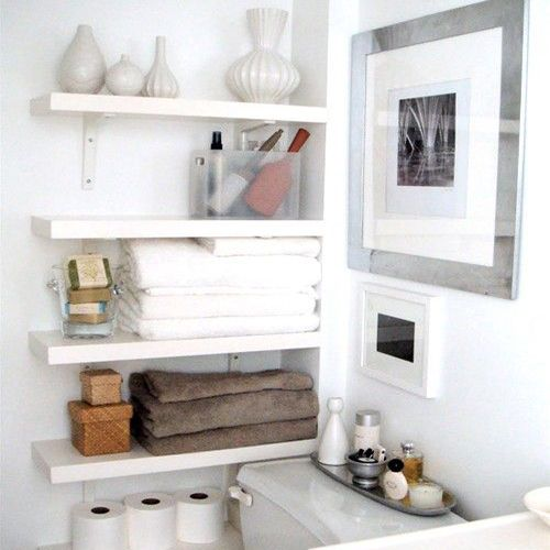 another cool shelving unit to save space.