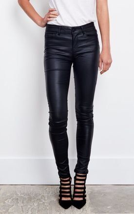 These biker skinnies are must have ladies. Figure flattering they are a statement piece to own this AW. Style with a warm jumper and converse for a casual daytime look, or with a pair of stilettos and a nice leotard for a killer evening outfit.